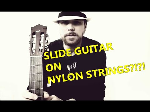 Slide Guitar On Nylon Strings..? (Walking Blues Cover/Interpretation In Open D)