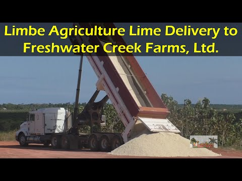 Limbe Agriculture Lime Delivery to Freshwater Creek Farms, Ltd.