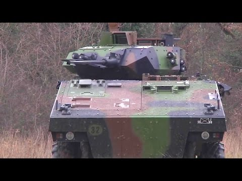 French Ministry Of Defense - VBCI 8X8 Infantry Fighting Vehicle [720p]