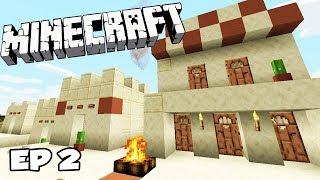 Minecraft Survie : Découverte d'un Nouveau village 1.14 ! Ep 2