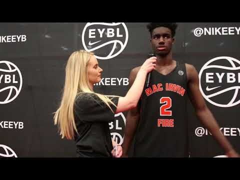Nike EYBL Dallas Interview with Khalil Whitney of Mac Irvin Fire (IL)