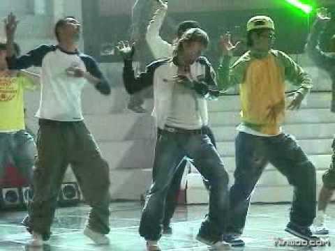 Shinhwa Minwoo Dance 05 050910 MSt@ rD@n c3B@t tle Rehearsal