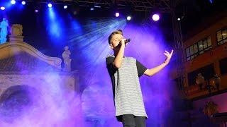 Download Adelanto del nuevo cover Andas En Mi Cabeza (Chino & Nacho) en el show case de Tenerife MP3 song and Music Video