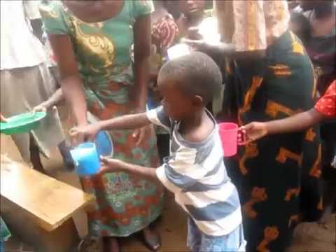 Noon Feeding program in Chilumba Malawi