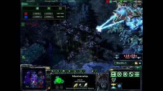 StarCraft 2 - AtheneWins vs. LuckyFish (and m'Wa flushes IdrA with pink testicles and cotton balls)