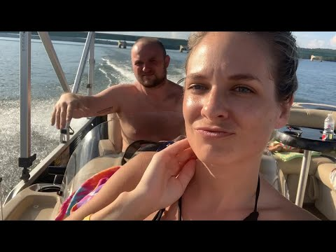 A Day At The Lake. Family Vlog. Boating. Life Update.