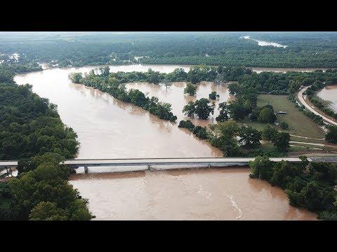 Hurricane Harvey - River Flooding - (Brazos River & Mill Creek)
