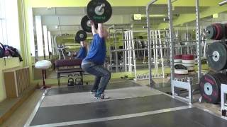 #Тяга рывковая200- 220 кг#ТяжелаяАтлетика
