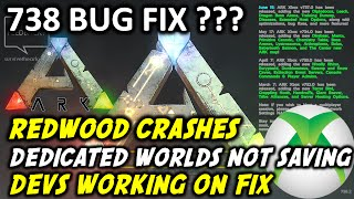 ARK NEWS Xbox - Game Crashes - Fixed Soon? Ark Survival Evolved Update 738