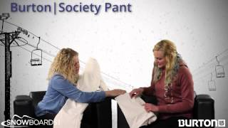 2015 Burton Society Womens Pant Overview by SnowboardsDOTcom