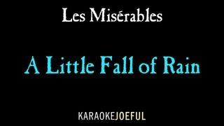A Little Fall Of Rain Les Miserables Authentic Orchestral Karaoke Instrumental