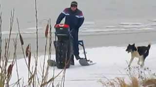 Самодельный снегоход-каракат г Кострома