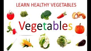 İngilizce Sebzeler ( 25 Sebze İsmi) ve İsimleri - Learn Vegetables with music and Names
