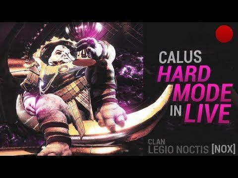 Calus HARD MODE in Live col Clan [IN UN GIRO] - Destiny 2