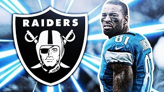 CALVIN JOHNSON COMING OUT OF RETIREMENT TO PLAY FOR THE RAIDERS?