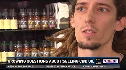 Growing questions about selling CBD oil