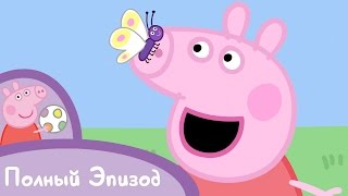 Свинка Пеппа - S01 E17 Лягушки, червяки и бабочки (Серия целиком)