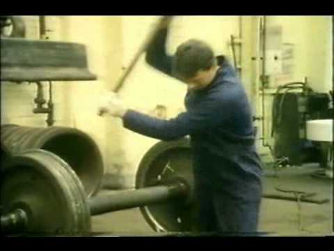 Swindon Locomotive Works 1985