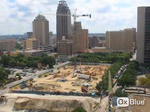 Frost Tower – San Antonio: First floor construction update