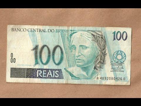 Vejam a Cédula de 100 reais que vale 2000 mil reais