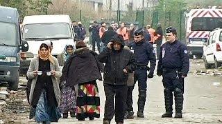 تخریب بزرگترین اردوگاه کولیها در فرانسه