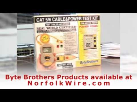 Byte Brothers CPK1000 Cable and Power Test Kit - YouTube