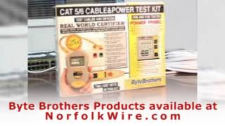 byte brothers cpk1000 cable and power test kit