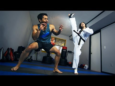 How to use AXE KICK in Sparring!