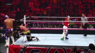 Rey Mysterio & Sin Cara Vs. Primo & Epico: Raw, October 1, 2012