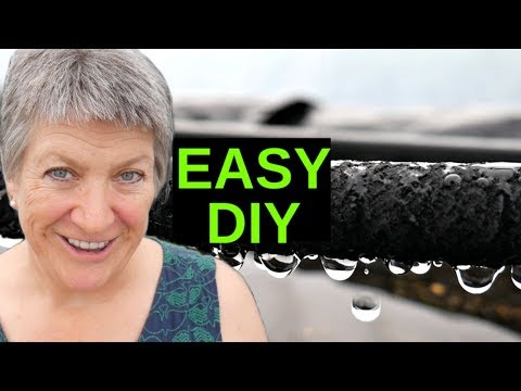 EASY Soaker Hose DIY Drip Irrigation (How To Install A Watering System)