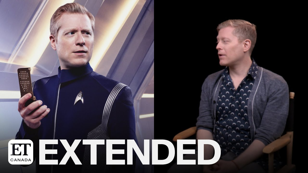Anthony Rapp Teases 'Star Trek: Discovery' Season 3 | EXTENDED