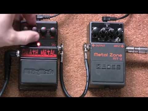 Boss Metal Zone Vs Digitech Death Metal Distortion Pedal Shootout