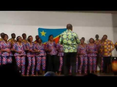 Concert Mgr Luc Gillon, Kinshasa