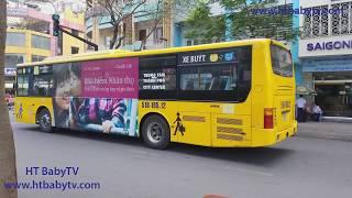 Wheels On The Bus 🚌 Bus Sai Gon 🚌 Video For Kids | HT BabyTV ✔︎