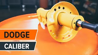 Τοποθέτησης Αμορτισέρ εμπρος και πίσω DODGE CALIBER: εγχειρίδια βίντεο