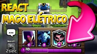 NEW CHANNEL and ELECTRIC WIZARD'S COMMERCIAL LEGENDADO PT BR CLASH ROYALE [CLASH with NERY]