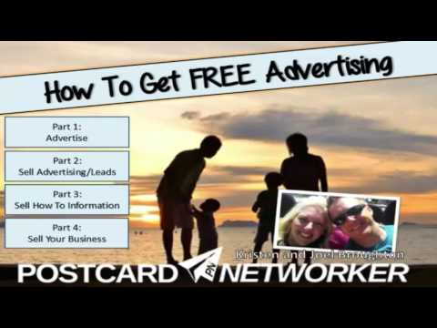 Postcard Networker - How to get Free Advertising for your MLM Business