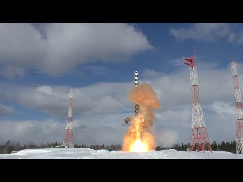Russia tests new nuclear missile