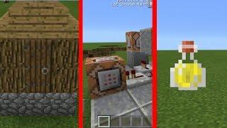 10 COMANDOS COM O BLOCO DE COMANDO NO MINECRAFT POCKET EDITION ! (Minecraft PE)