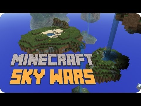 Minecraft - Sky Wars ¡La Trampa de Cristal! - YouTube