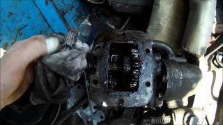 Замена сальников и подшипника первичного вала КПП ЗиЛ 130