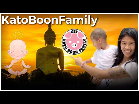 baby-kato-visiting-buddhist-temples-in-thailand,-katoboonfamily-good-karma-secret-revealed