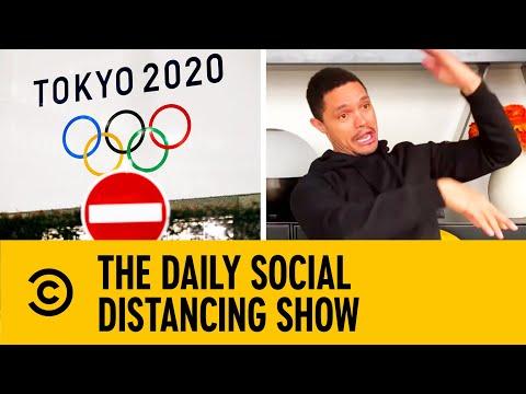 Tokyo Olympics Postponed To 2021 Due To Coronavirus | The Daily Show with trevor noah