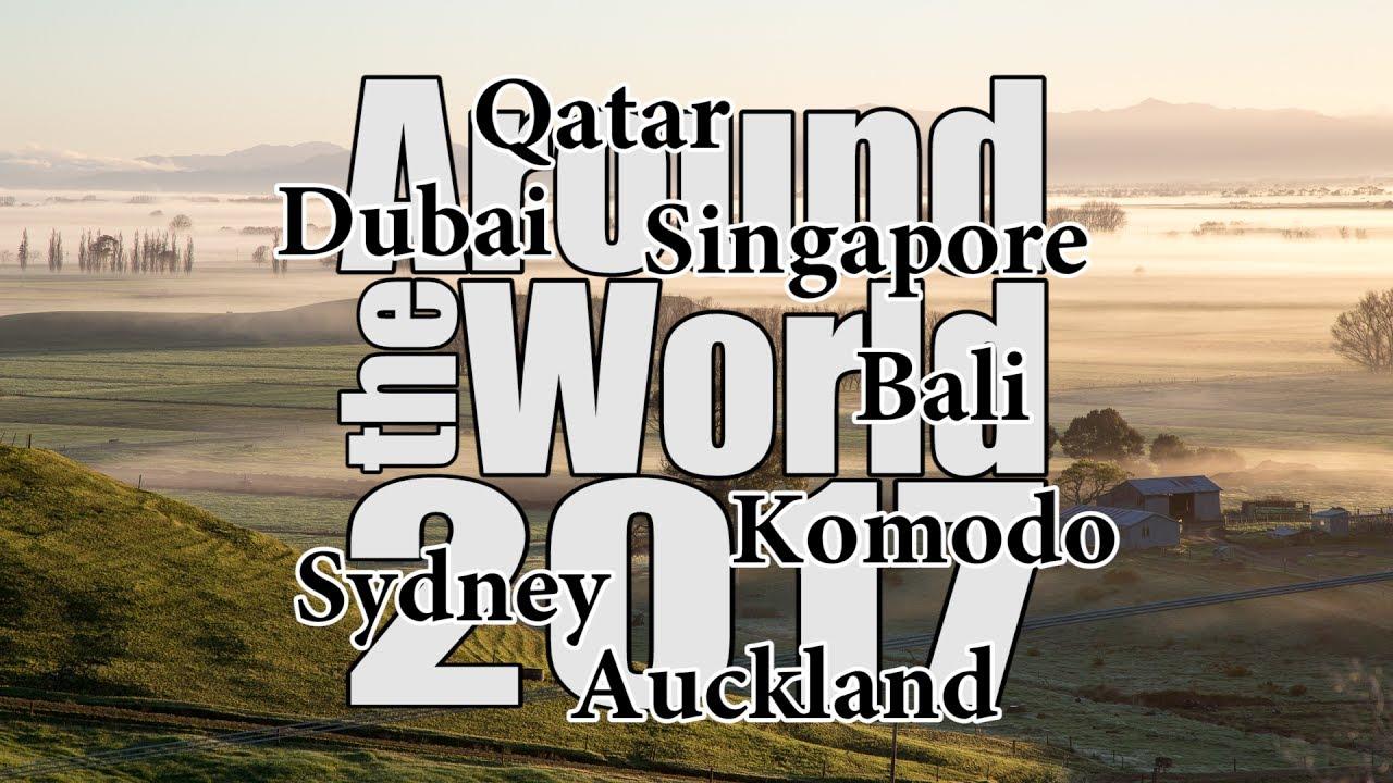 Traveling Around the World in 26 Days