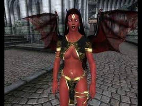 Elder Srolls Oblivion: Flying Demon Race Mod!