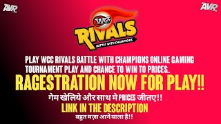 Wcc Rivals || Wcc Revival Battle With Champions Online Gaming Tournament || Cricket Game Tournament