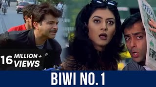 Biwi No.1 | All comedy Scenes | Salman Khan | Karishma Kapoor | Anil Kapoor | Pooja Entertainment
