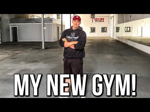 WELCOME TO MY NEW GYM | All In Ep. 1