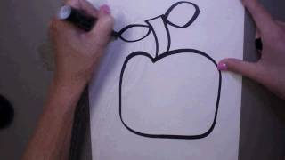 Romero Britto Marker Apple