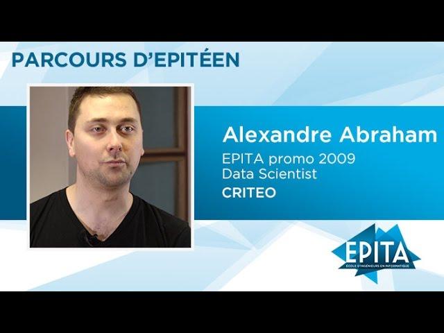 Parcours d'Epitéen - Alexandre Abraham (promo 2009) - CRITEO